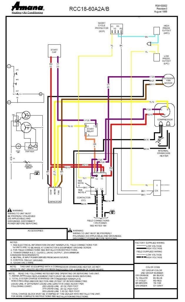 Amana Tr25ve Wiring Diagram