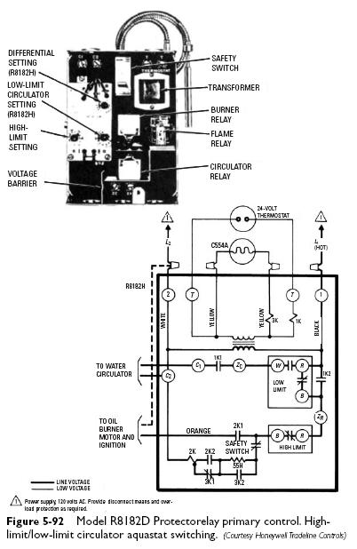 Aquastat Wiring Diagram Damper