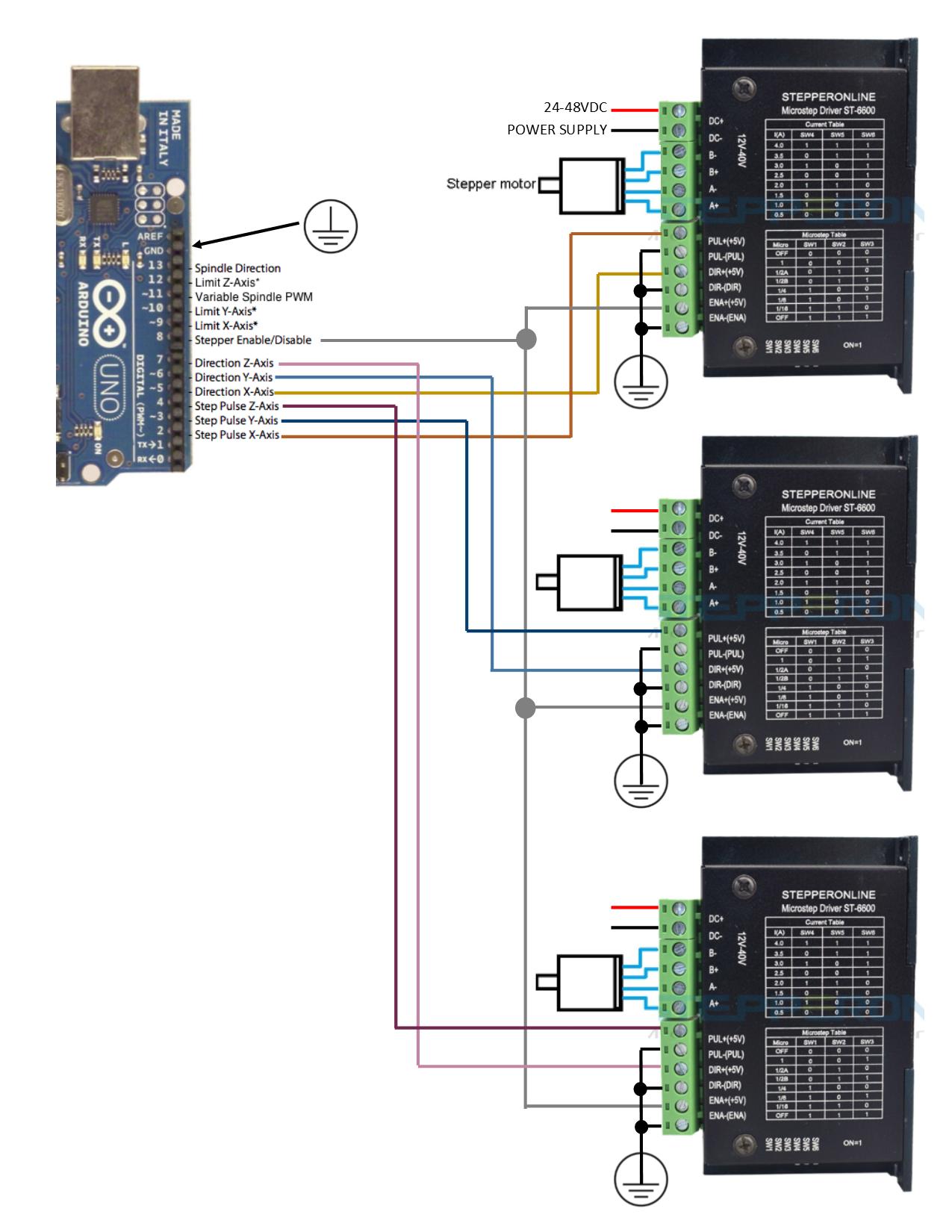 Ardunio Uno Dm542t Wiring Diagram