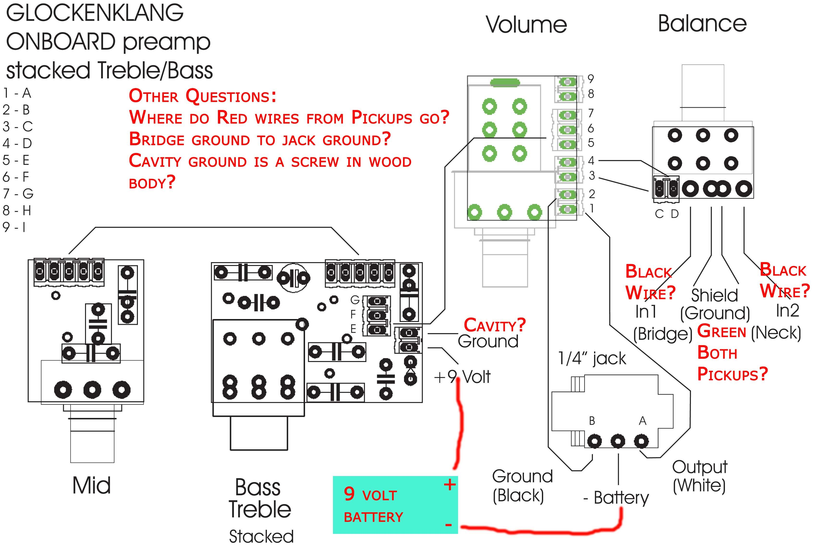 Diy Bass Knob Wiring Diagram