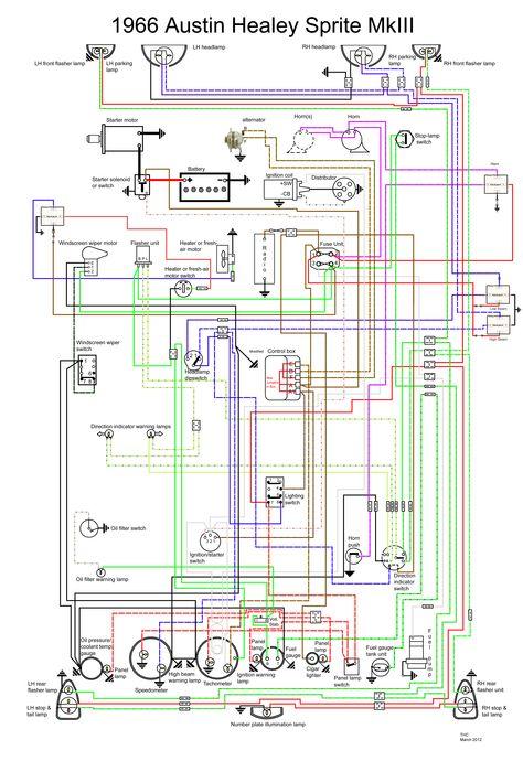 Austin Healey Mk4 Wiring Diagram
