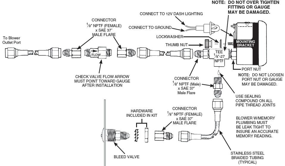 Autometer Egt Gauge Wiring