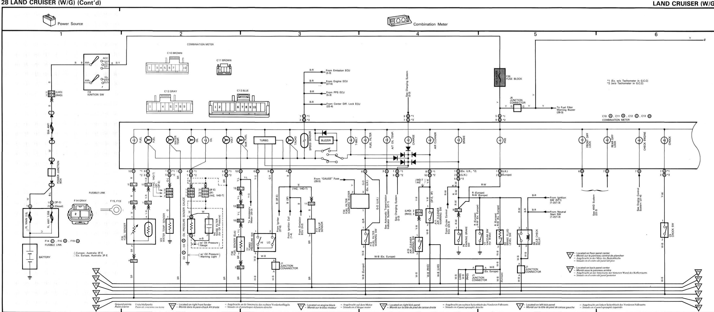Autometer Gauge Wiring Diagram Short Sweep