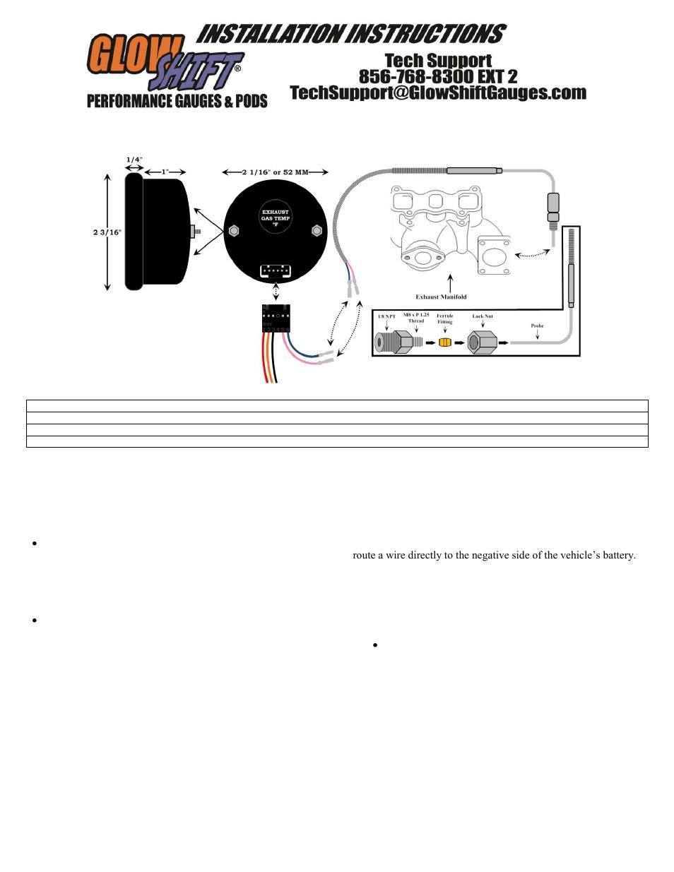 autometer pyrometer wiring diagram. Black Bedroom Furniture Sets. Home Design Ideas
