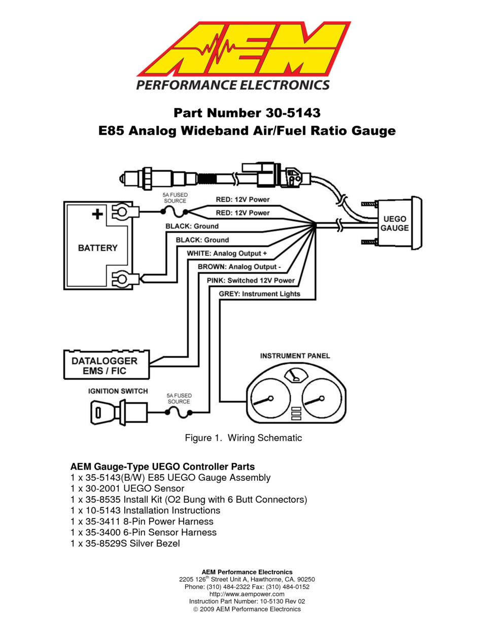 Autometer Gauges Wiring Diagram from schematron.org