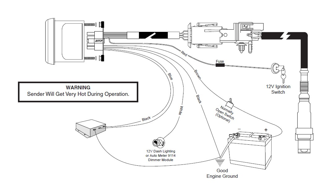 Autometer Wideband Wiring Diagram