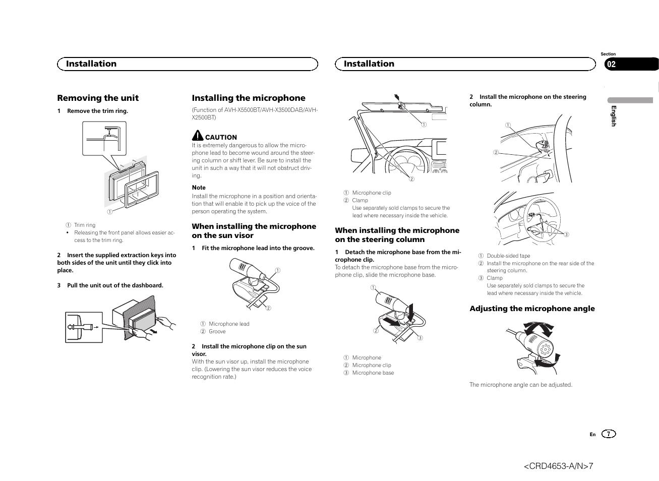 Avh X2500bt Wiring Diagram