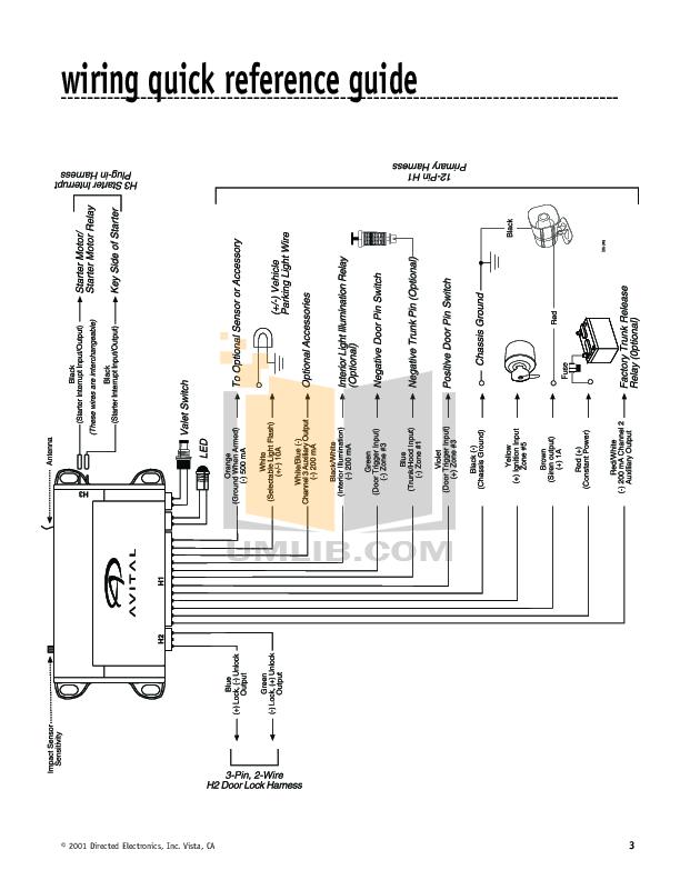 avital 5303 remote starter wiring diagram    avital    3100    wiring       diagram        avital    3100    wiring       diagram