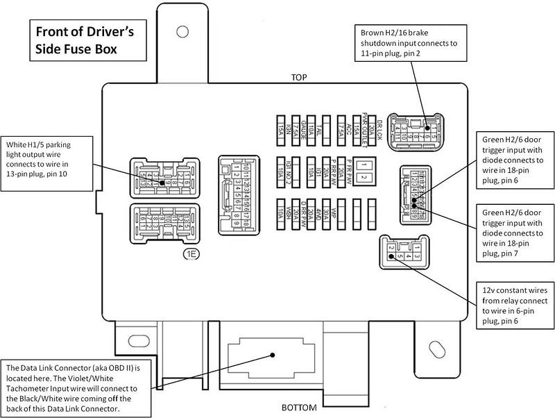 Avital 3100 Wiring Diagram