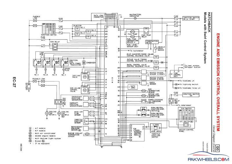 nissan eccs wiring diagram  92 camaro wiring diagram fuse