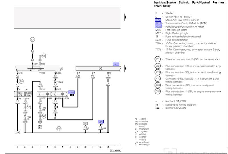 B5 S4 Icm Wiring Diagram