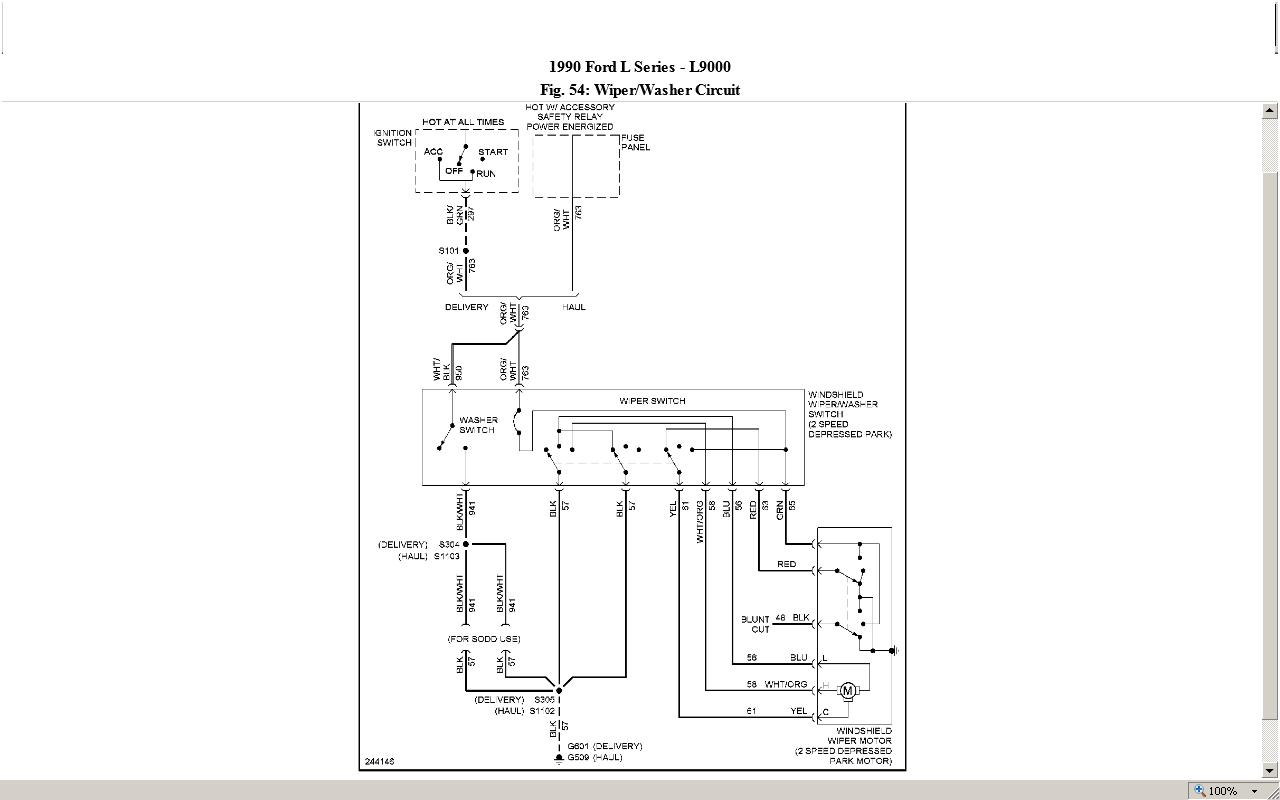 Backup Switch Wiring Diagram 1984 International S1900