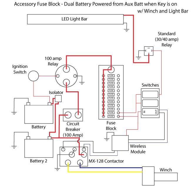 badland winch wiring diagram Badland Winch Wireless Remote Control