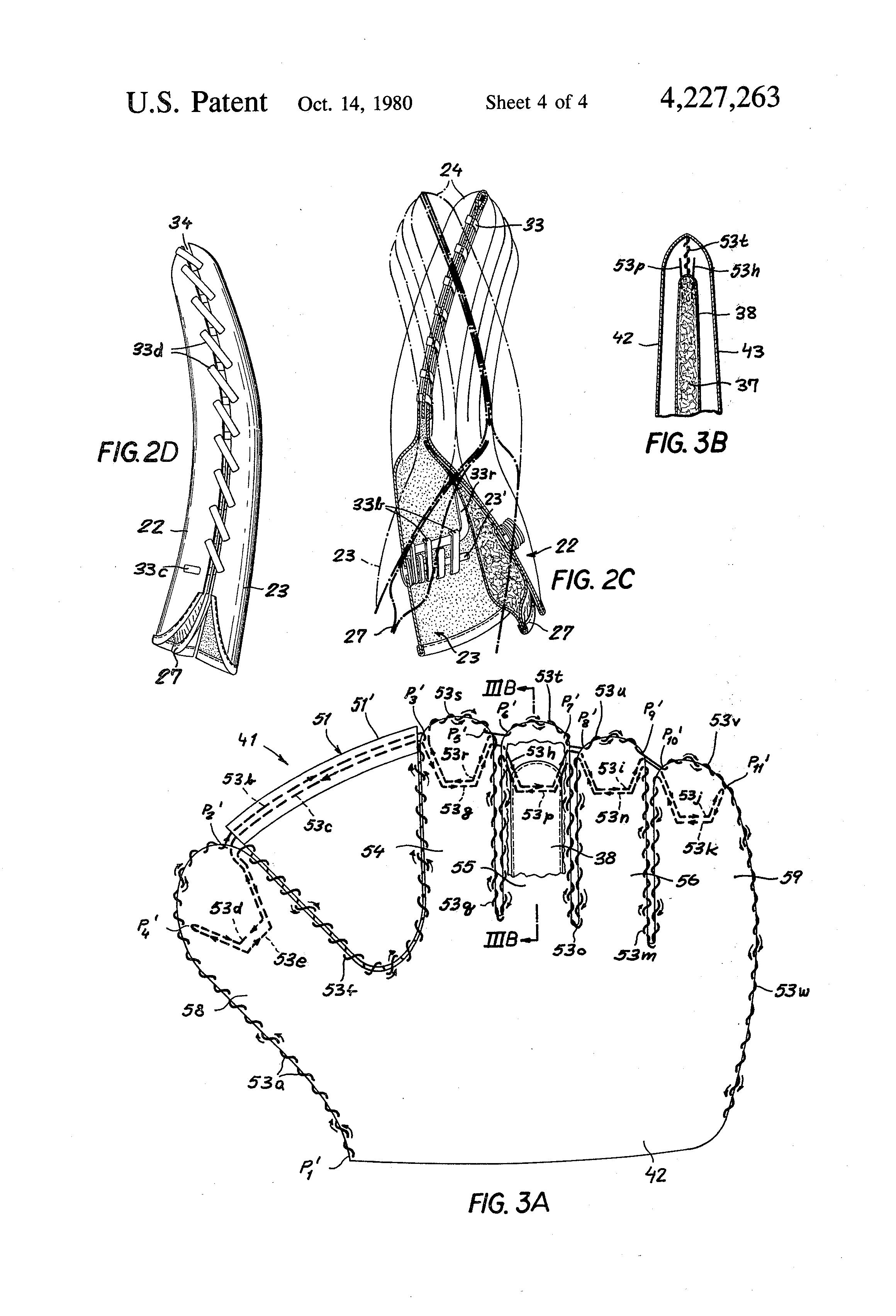 Baseball Glove Lacing Diagram