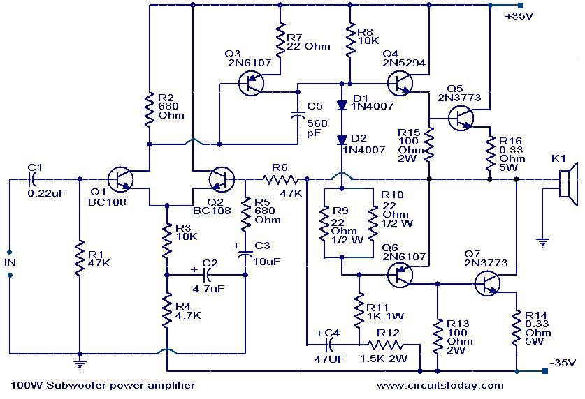 Bazooka Tube 10 With Amp Oct 16 2004 Wiring Diagram