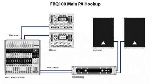 Behringer Fbq100 Wiring Diagram