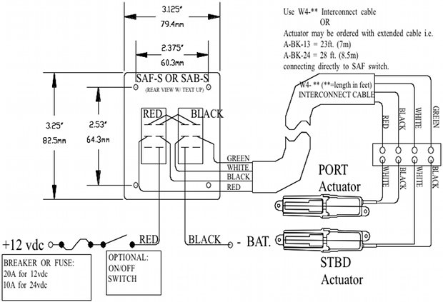 Bennett Trim Tab Rocker Switch Wiring Diagram