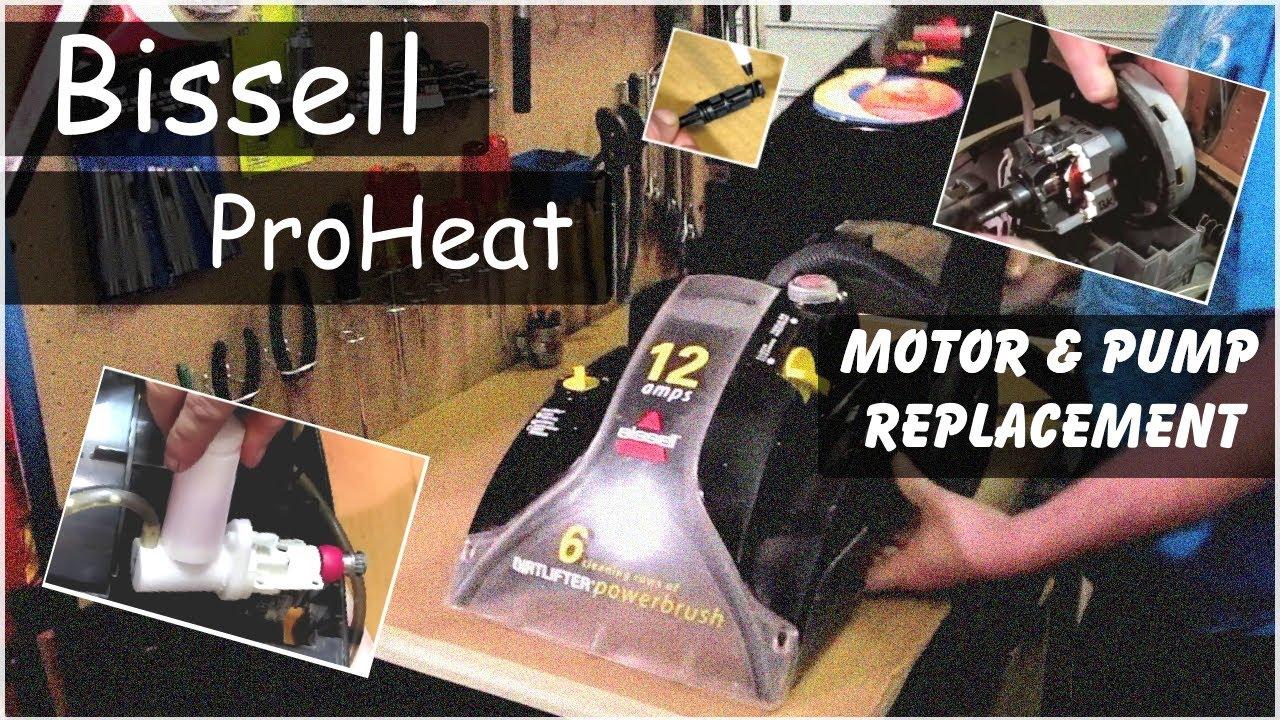 Bissell Proheat Parts Diagram Vacuum