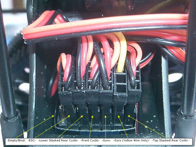 Blade 230s Servo Wiring Diagram