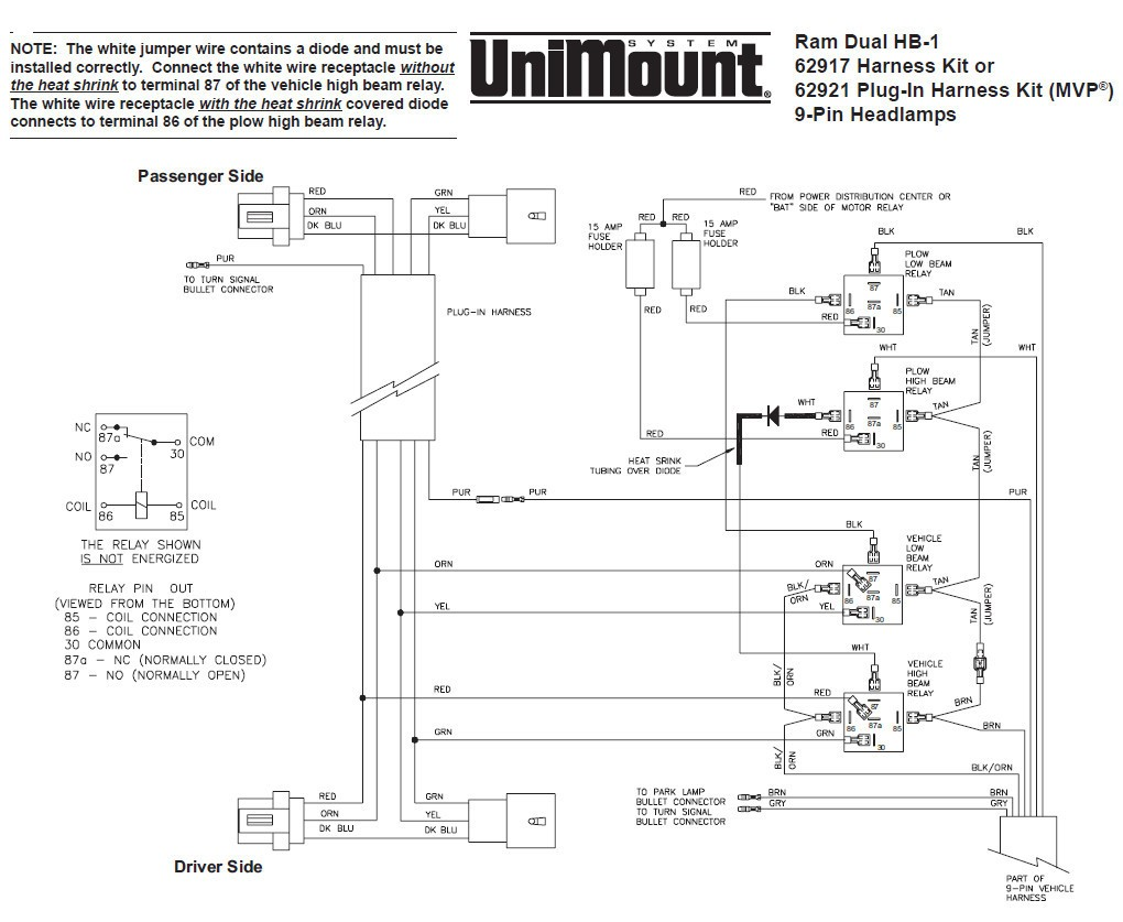 Blizzard Plow Wiring Diagram