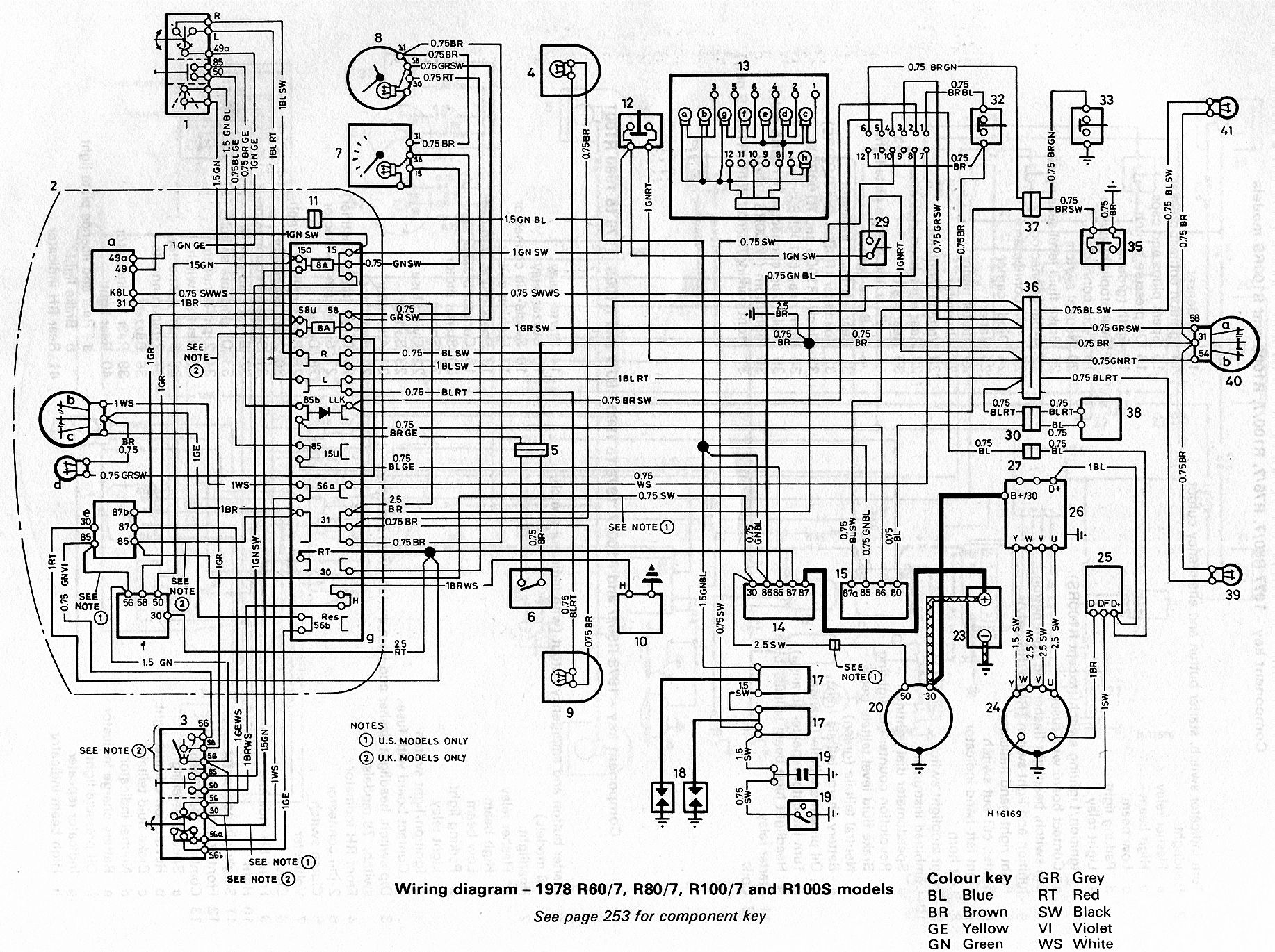 Bmw R60 Wiring Diagram