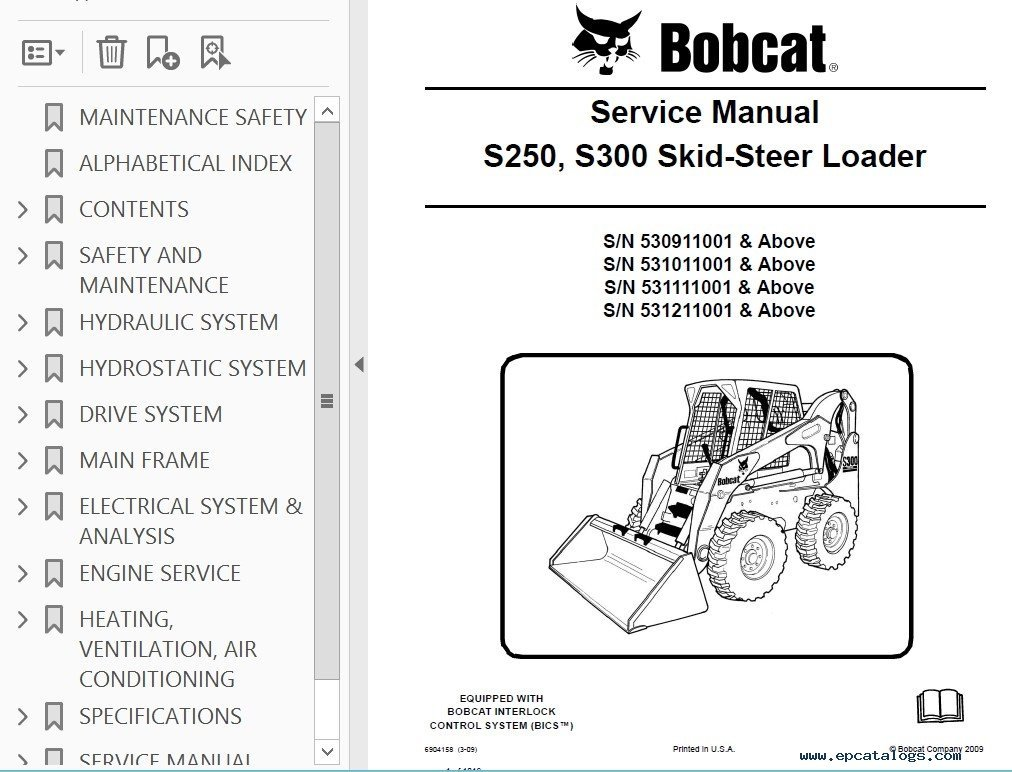 Bobcat 863 Wiring Diagram from schematron.org