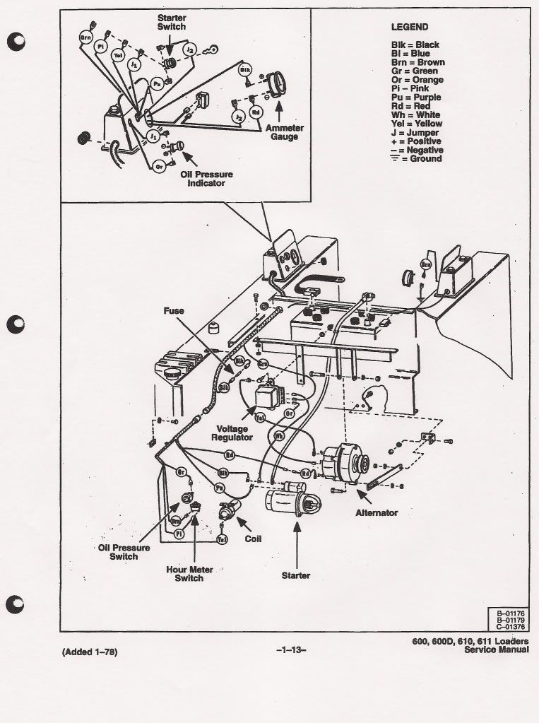Bobcat 610 Parts Diagram