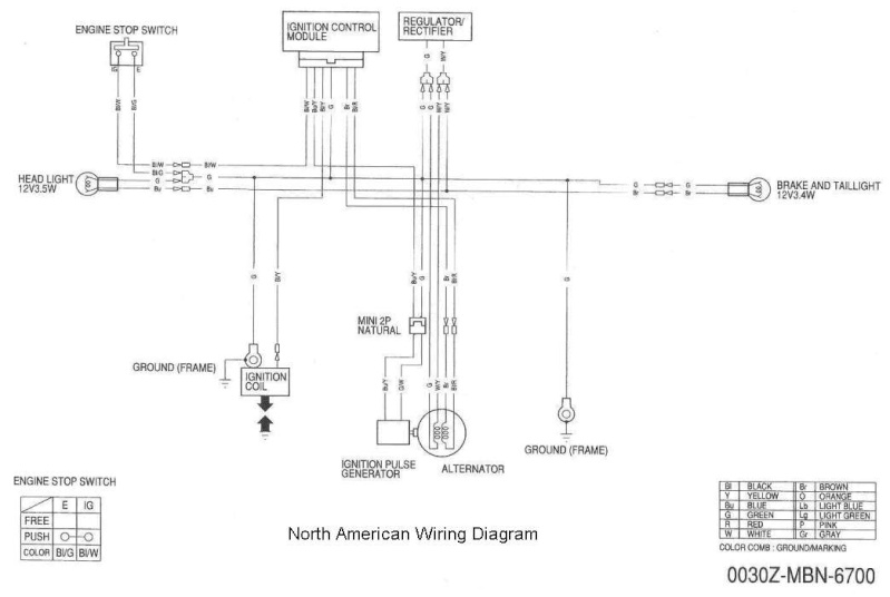 Bombardier Ds 650 Wiring Diagram