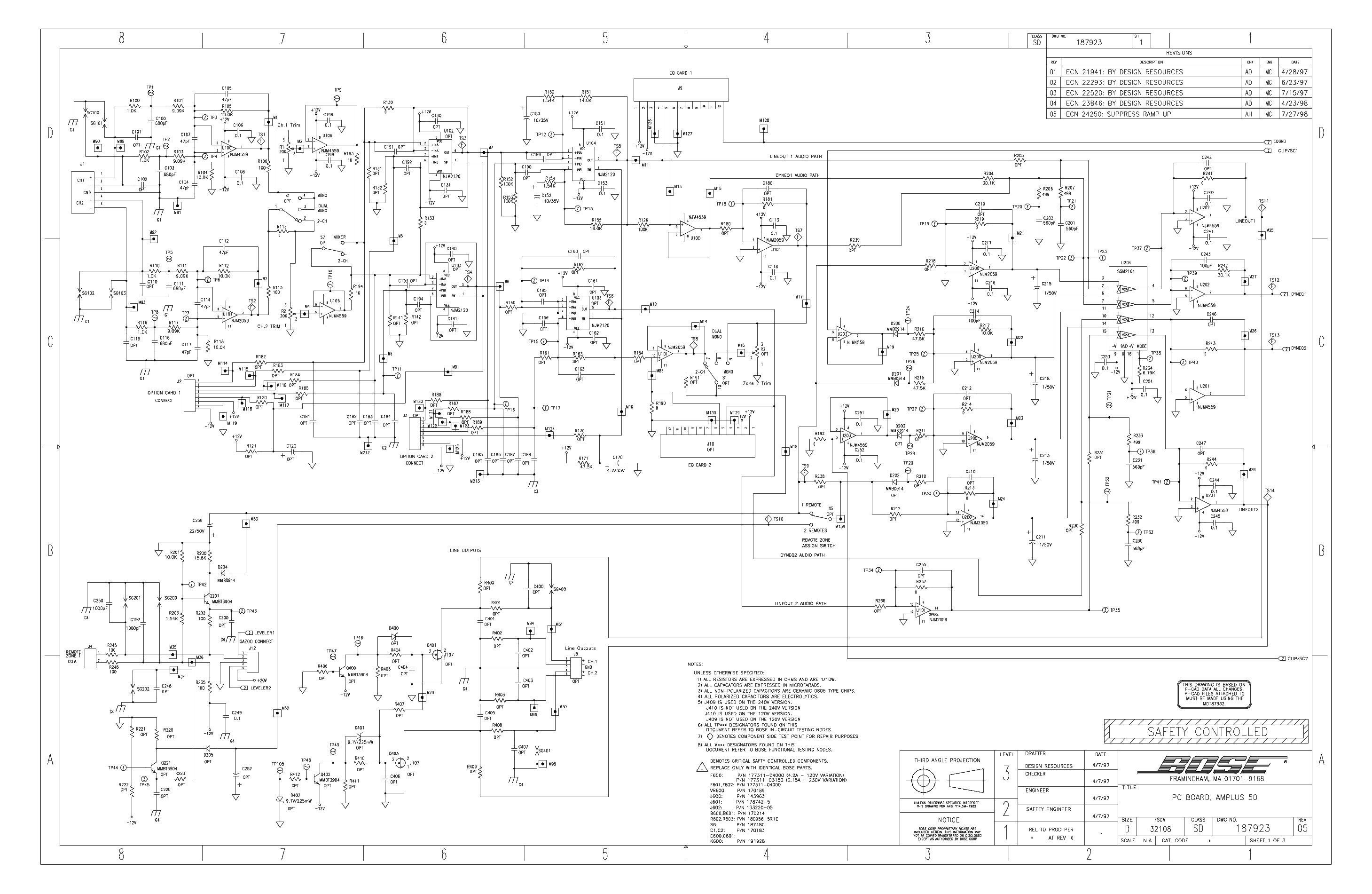 Bose Acoustimass 9 Wiring Diagram