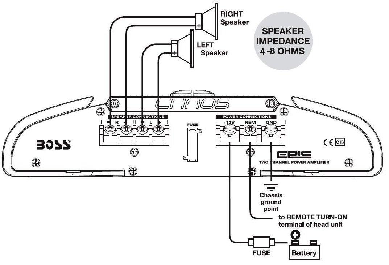 boss 3700w amp wiring diagram