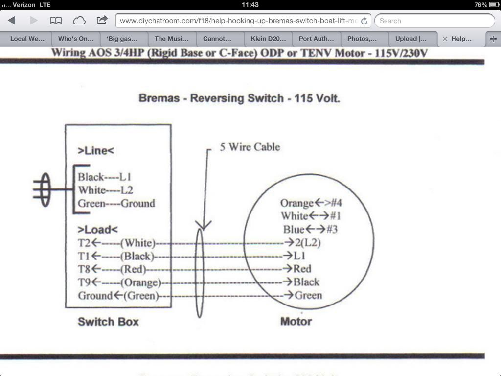 Bremas Series A1700 Wiring Diagram