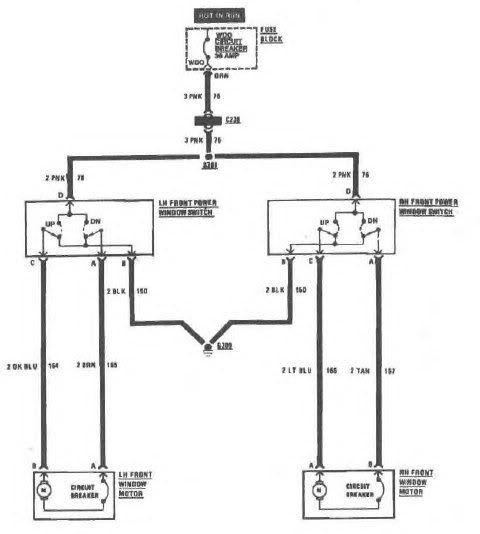 Brevet 6 Pin Power Window Switch Wiring Diagram