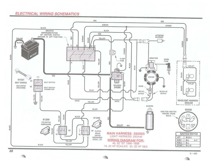 Briggs And Stratton 16 Hp V Twin Opposed Wiring Diagram 402707