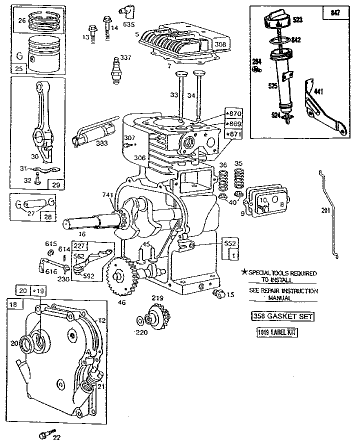 Briggs And Stratton 21 Hp Intek Wiring Diagram