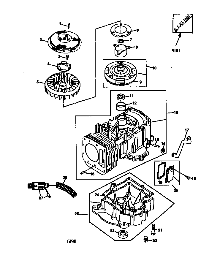 Briggs And Stratton 28n707 Wiring Diagram