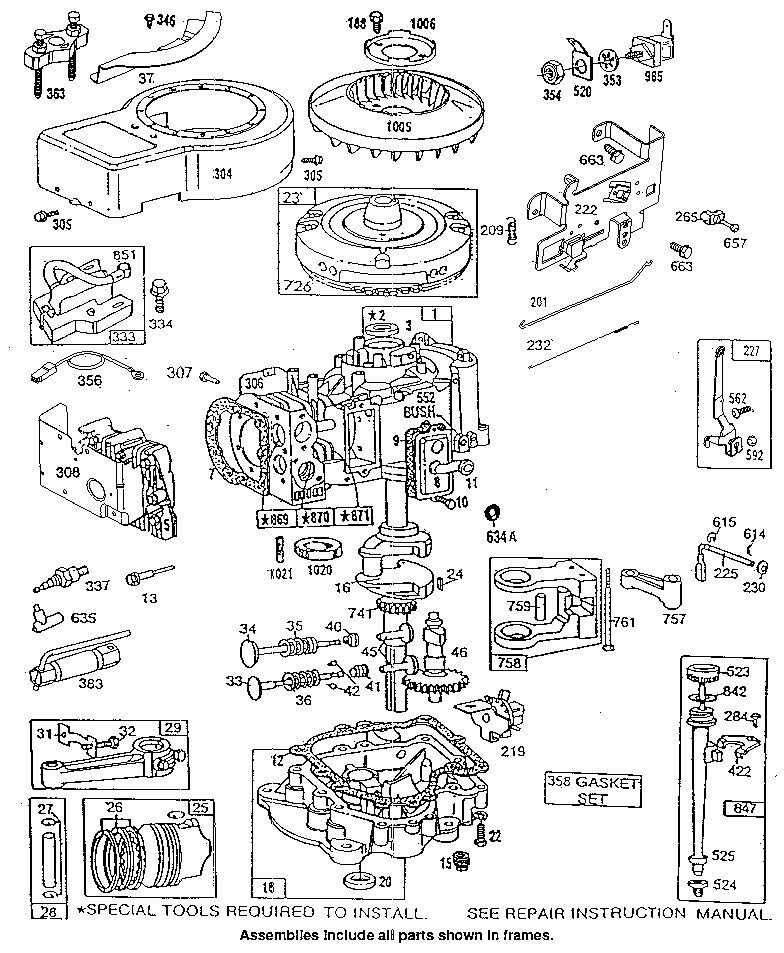 Briggs And Stratton Quantum 5hp Carburetor Diagram