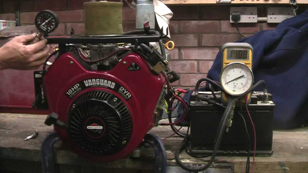 Briggs And Stratton Vanguard 18 Hp V