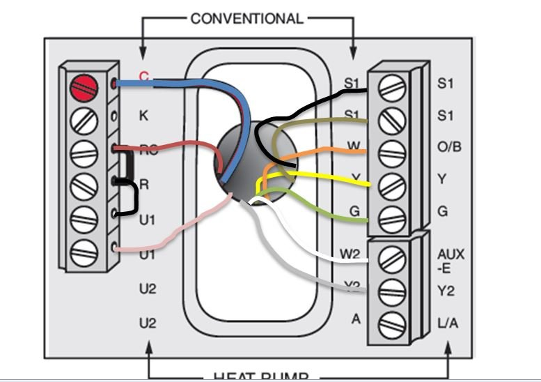 Bryant Thermostat Model 548f036 Wiring Diagram
