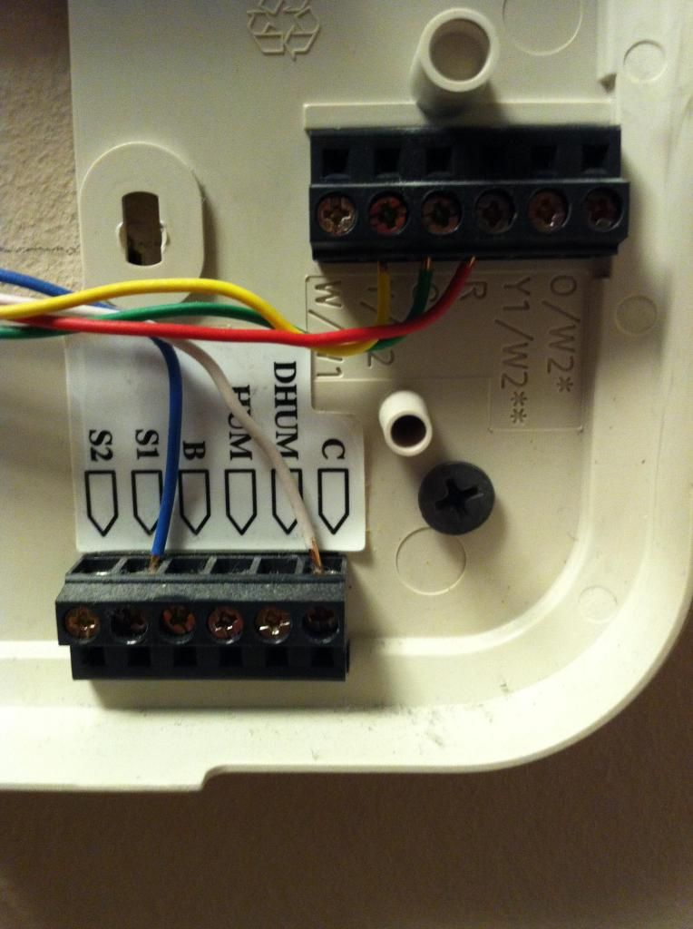 Bryant Thermostat Model 548f036 Wiring Diagram Manual