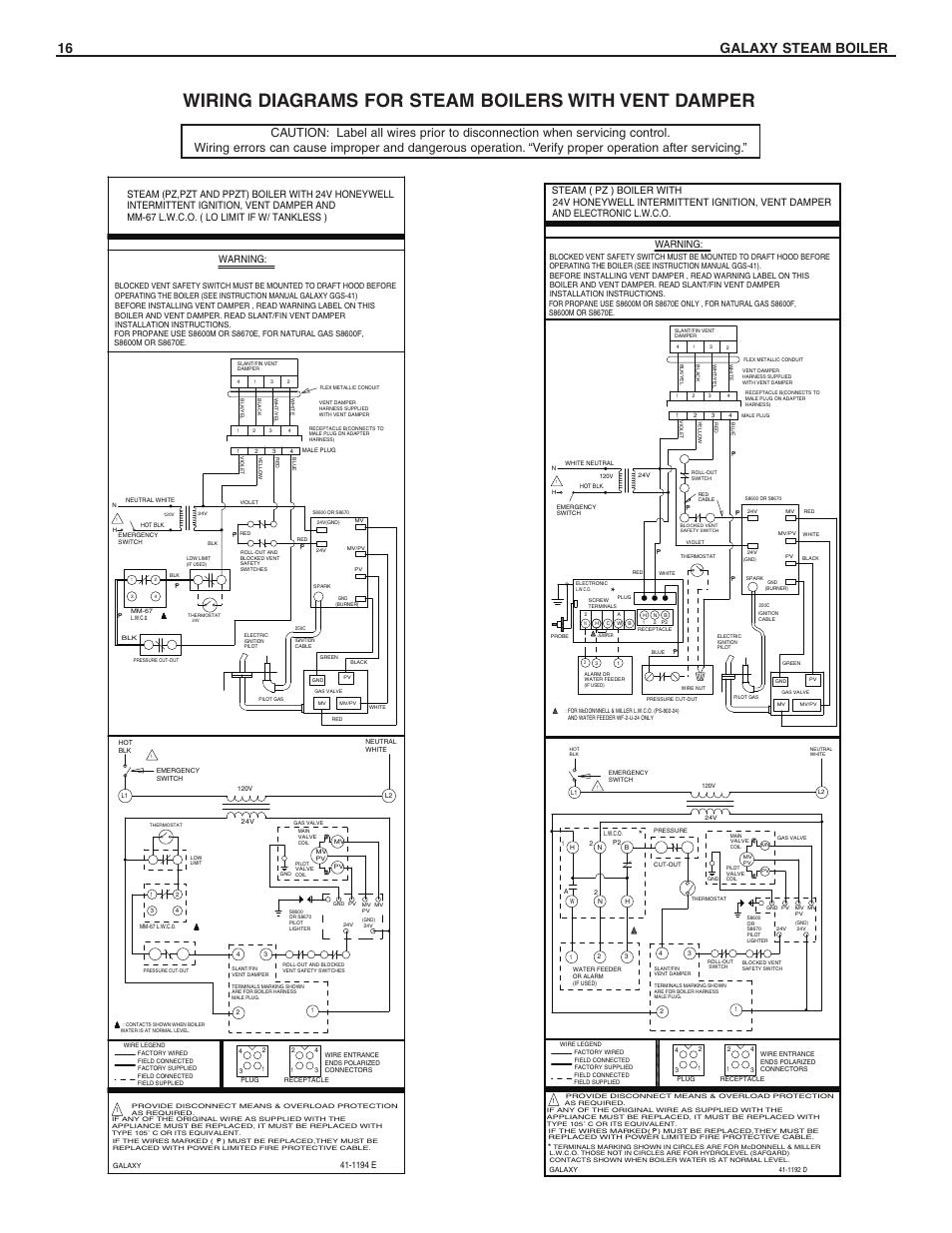 Burnham Gas Boiler Wiring Diagram