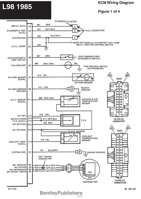C6 Corvette Wiring Diagram From Ecm To Ignition Coils