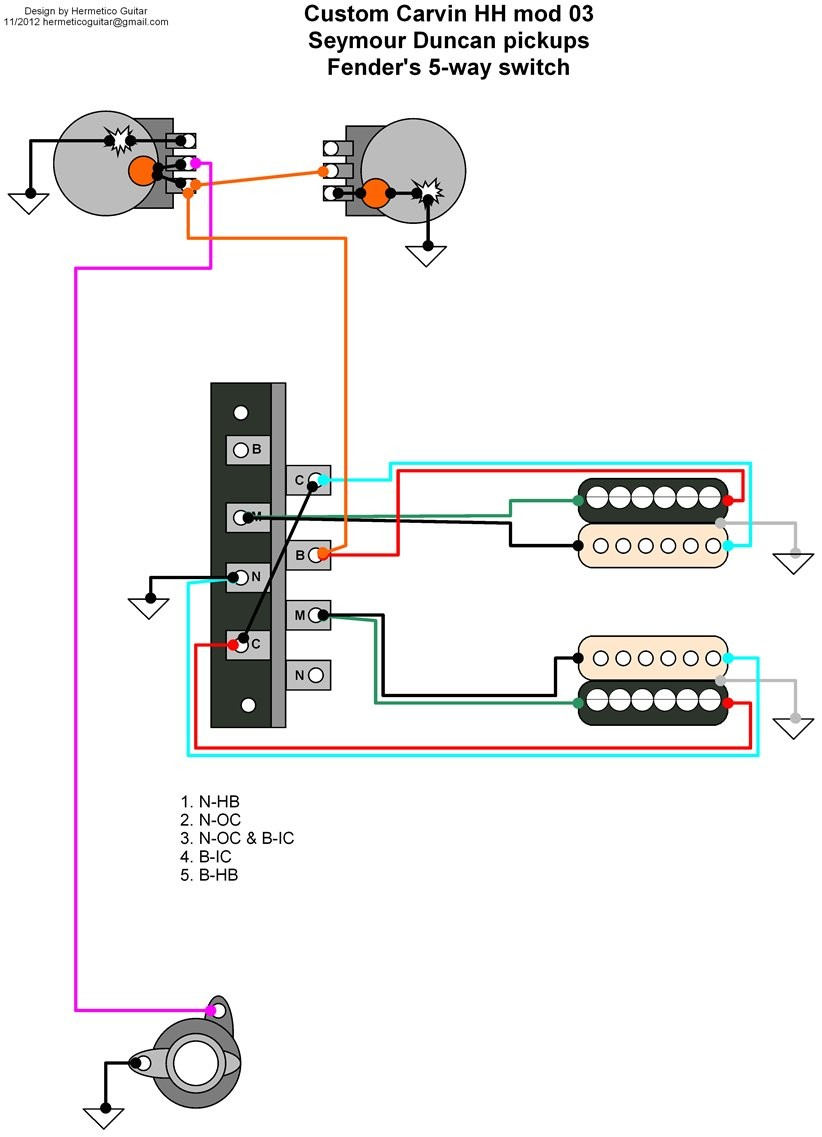Carvin Bolt Wiring Diagram