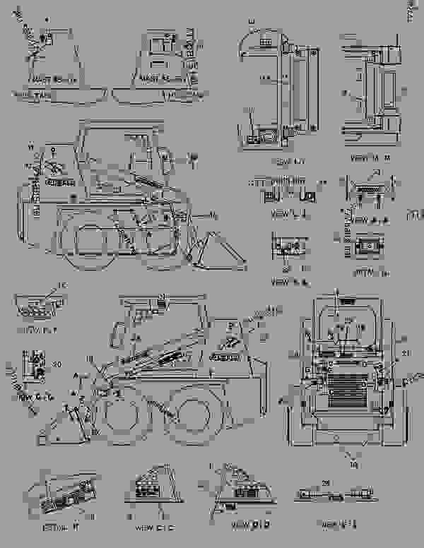 case 1845c parts diagram
