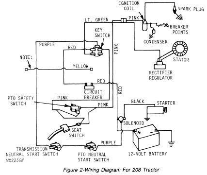 Case Tractor Dc3 Tractor Battery Wiring Diagram on