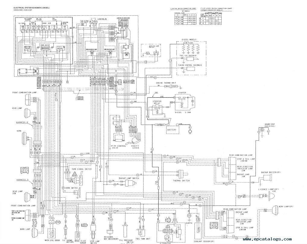 Cat Model T50d Wiring Diagram