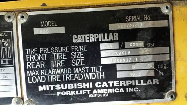 Cat Fork Lift Wire Diagram - Wiring Diagrams List