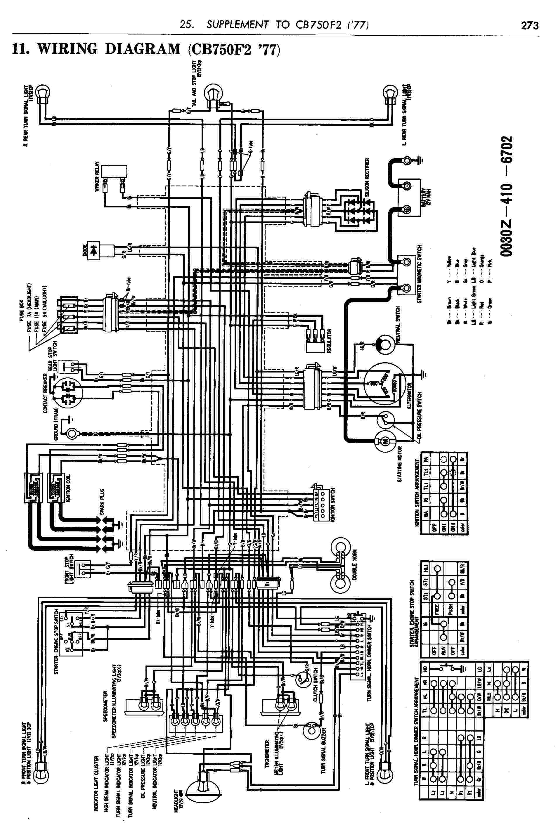 Cb 750 K3 Wiring Diagram