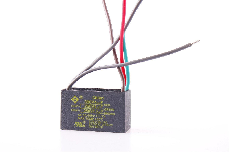 Cbb61 Capacitor 3 Wire Diagram