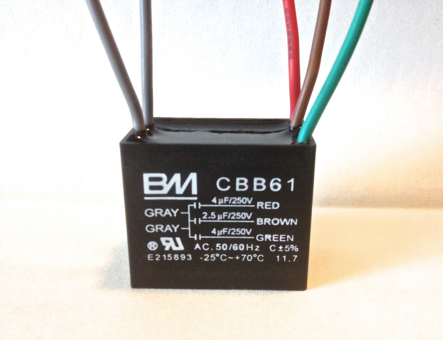 Cbb61 Fan Capacitor Wiring Diagram