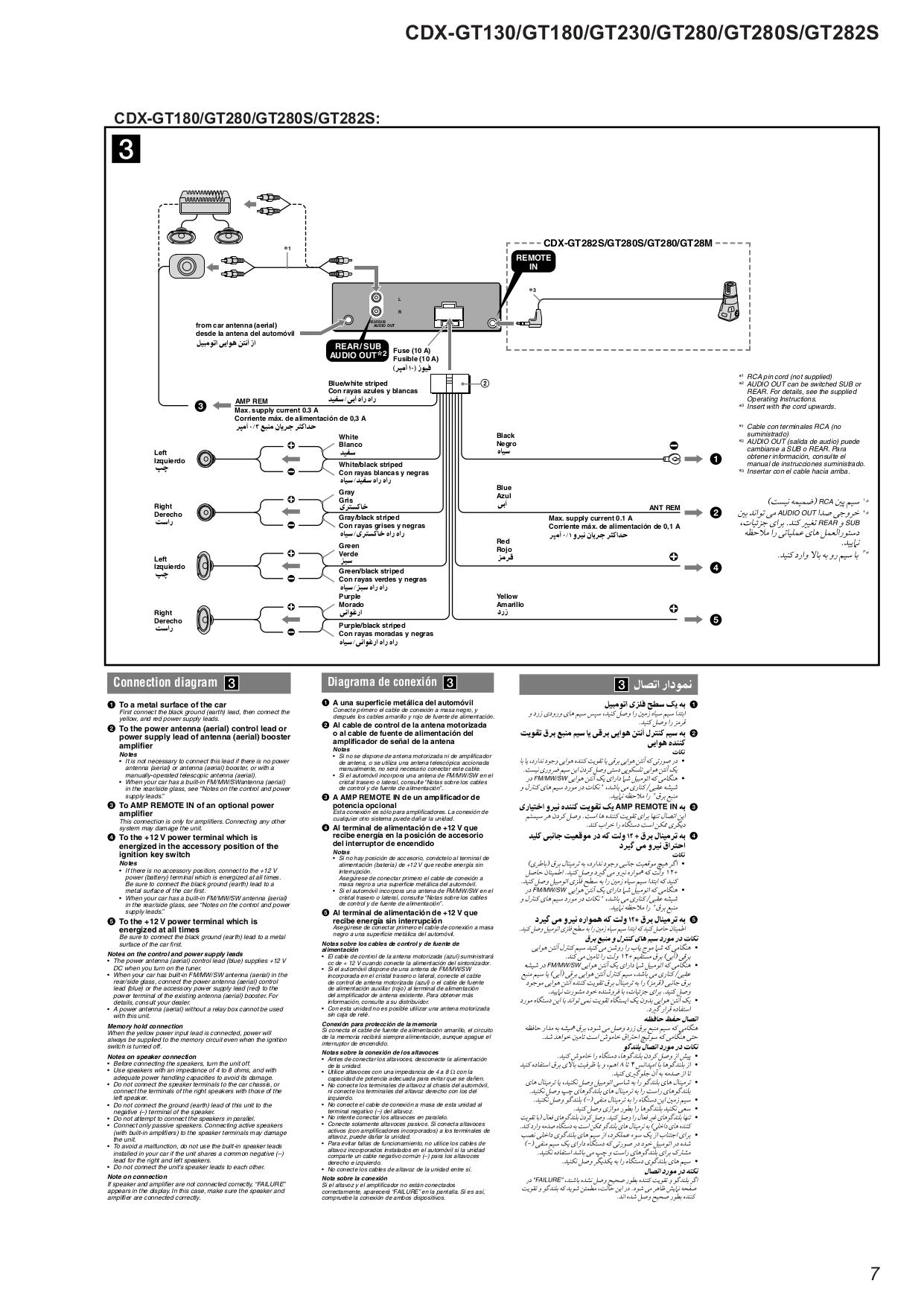 Sony Cdx-Gt09 Wiring Diagram from schematron.org